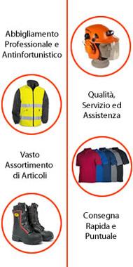 Abbigliamento da lavoro La Spezia | Molinari Forniture